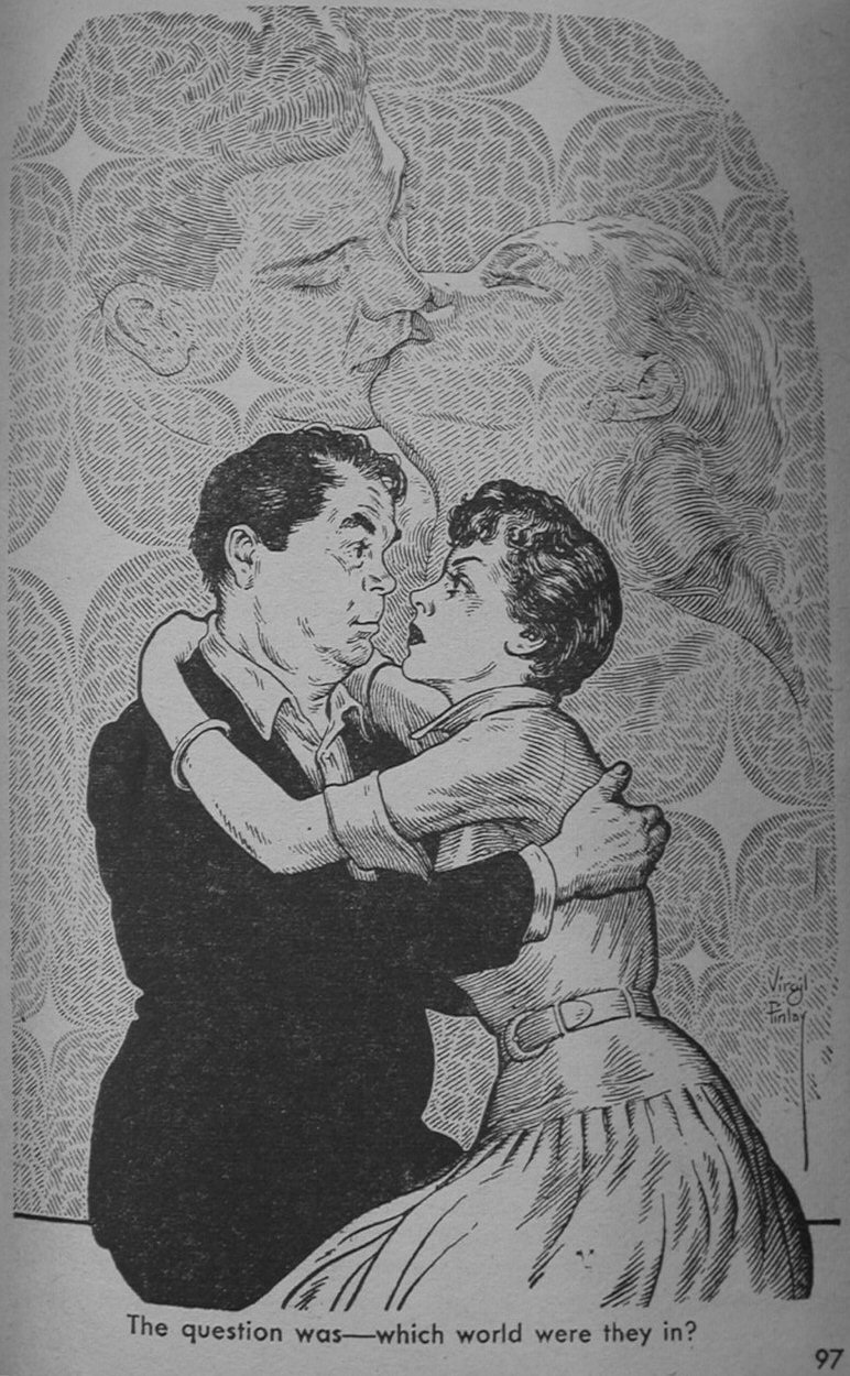 Illustration from Fantastic Magazine December 1956